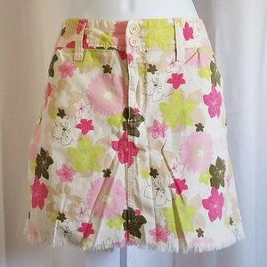 Bright Floral Skort by Sonoma
